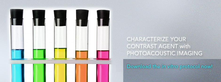 Characterize your Contrast Agent with Photoacoustic Imaging