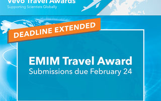 EMIM Travel Award Deadline Extended to February 24, 2020
