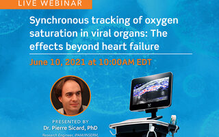 In this webinar Dr. Sicard will discuss imaging the systemic effects of myocardial infarction using high frequency ultrasound and photoacoustics.