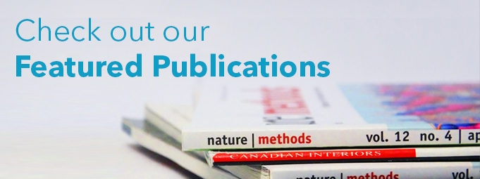Check out our Featured Publications