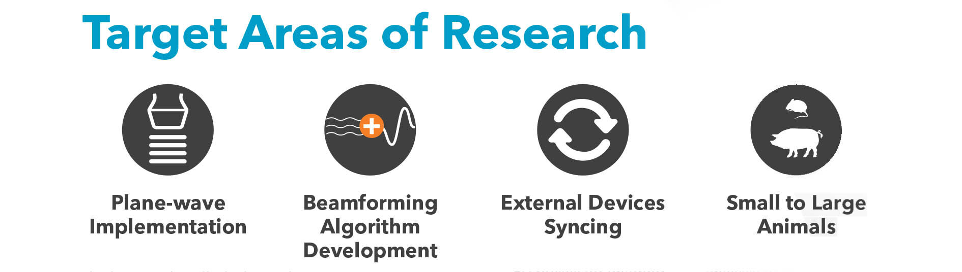 Target Areas of Research with the Vevo F2